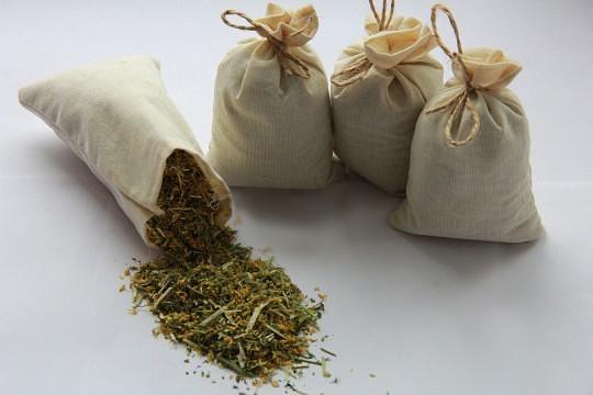 Мешки для трав, травяных сборов и чаёв.